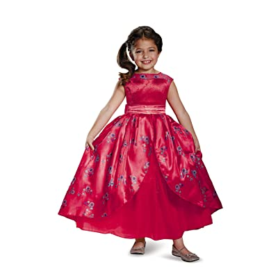 Disney Elena of Avalor Deluxe Ball Gown Girls' Costume: Toys & Games