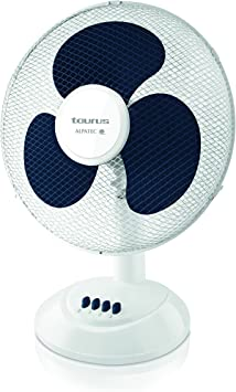 Taurus - Alpatec 944637000 Ventilador aire, 41 W, Blanco y azul: Taurus: Amazon.es: Bricolaje y herramientas