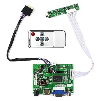 Tarjeta de regulador de LCD de Entrada de Audio HDMI VGA 2AV ...