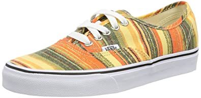 d112a86044bd Vans Mens Authentic (Baja Blanket) Multi True White VN-00AIGEM 4
