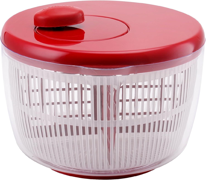Farberware Professional Salad Spinner, Red