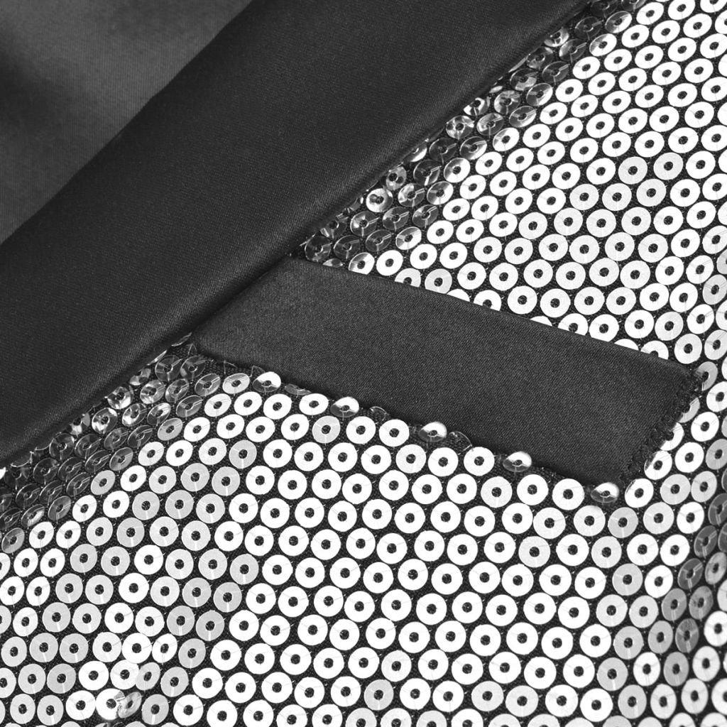VidaXL Smoking Smoking Smoking mit Pailletten Blazer Abendanzug schwarz Tie Herren B078PDDDF7 Anzüge Bestellungen sind willkommen a2086f