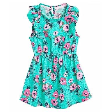 OFFCORSS Short Sleeve Flower Girl Dress Ropa para Niña Vestidos Cortos Green 2T