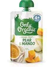 Only Organic Pear & Mango  4+ Months - 120g