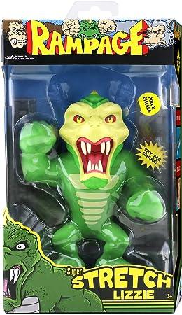 Rampage Super Stretch Lizzie Figure Sound Exclusive Retro Toy