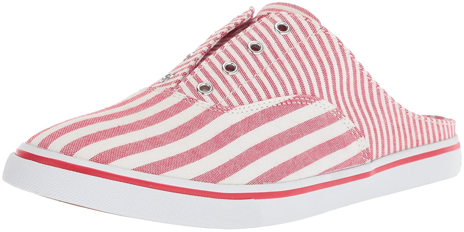 Lauren by Ralph Lauren Women's Jaida Sneaker B0767VYLWZ 9.5 B(M) US|Red/White