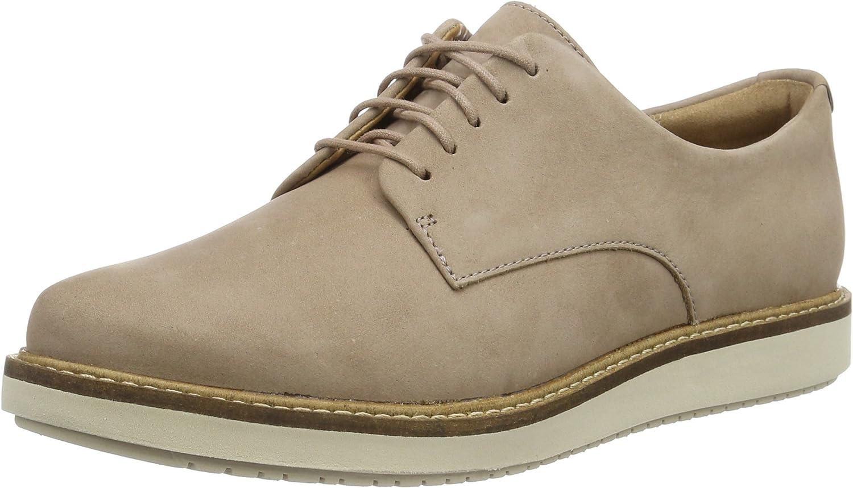 Clarks Glick Darby, Zapatos de Cordones Derby para Mujer