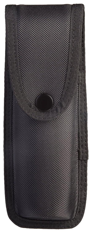 Uncle Mike's Law Enforcement 89071 Sentinel Molded Nylon OC/Mace Pouch, Black, Large