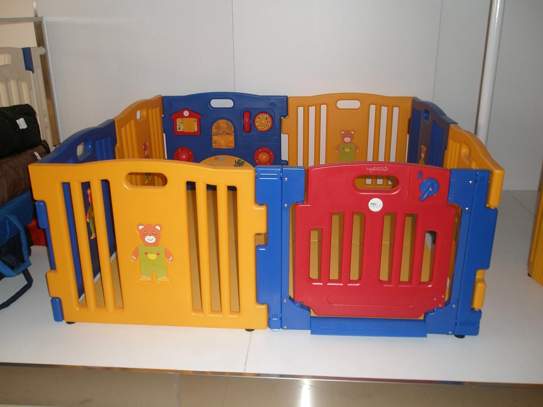 amazoncom  baby diego cub'zone playpen and activity center  - amazoncom  baby diego cub'zone playpen and activity centeryellowbluered  playards  baby
