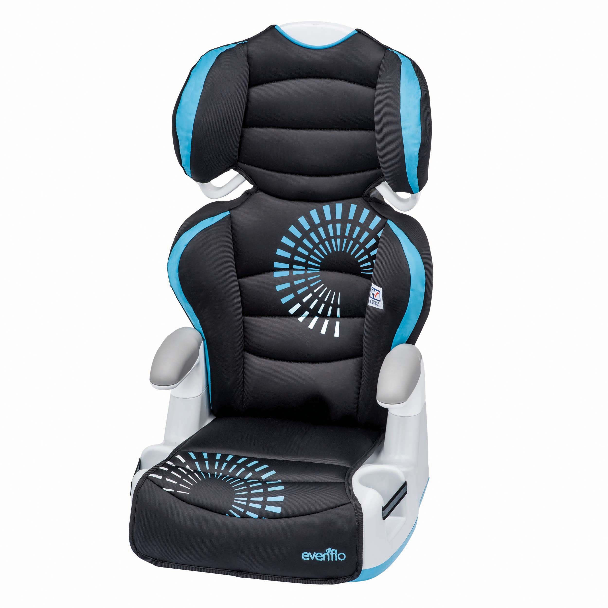 Amazon.com : Evenflo Amp High Back Booster Car Seat, Carrissa ...