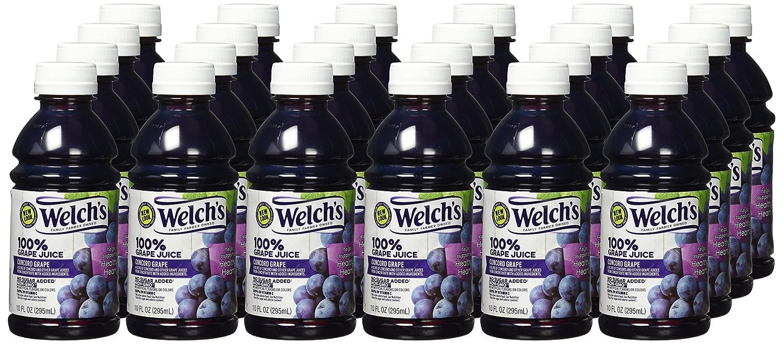 Welch 100% del Zumo de uva, 10-Ounce Botellas (24 unidades ...