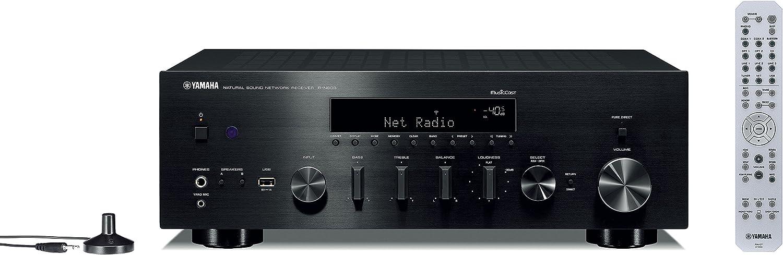 Yamaha Hi-Fi Audio Component Receiver Black (R-N803BL)