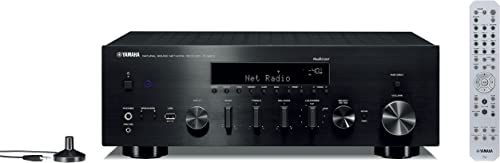 Yamaha Hi-Fi Audio Component Receiver Black R-N803BL