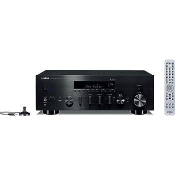 Yamaha Hi-Fi Audio Component Receiver Black (R-N803BL), Works with Alexa