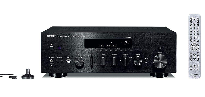 Yamaha Hi Fi Audio Component Receiver Black R N803bl