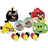Angry Birds Ultimate Balloon Birthday Party Supply Kit 4 Bird Pig Set Mylar *15*