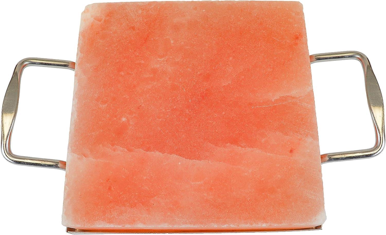 Himalayan Secrets Himalayan Salt Block Cooking Tile for Grilling or Serving - for Building Salt Walls As Well (8