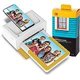 Kodak Dock Plus Instant Photo Printer – Bluetooth Portable Photo Printer Full Color Printing – Mobile App Compatible…