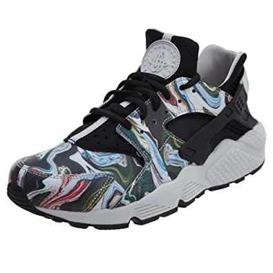 6c60ec1e37ac Nike Women s Air Huarache Run PRM Black Grey 683818-017 (Size  5.5