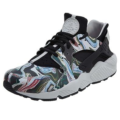 ee77698f9f2 Nike Women s Air Huarache Run PRM Black Grey 683818-017 (Size  5.5