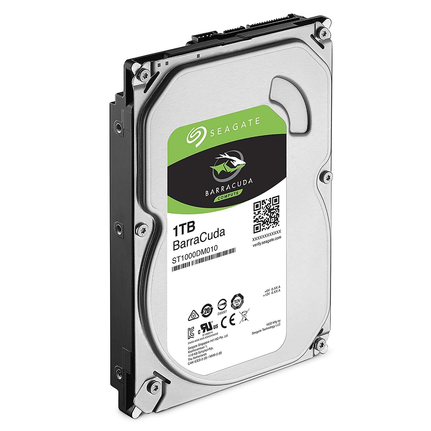 Seagate Barracuda Internal Hard Drive 1tb Sata 6gb S 35 Harddisk Casing 64mb Cache Inch St1000dm010 Computers Accessories