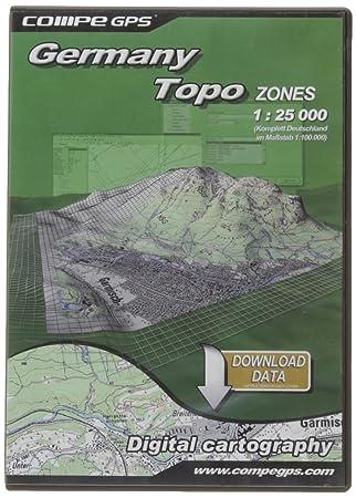 TwoNav Tarjeta Alemania región TOP25 para GPS: Amazon.es ...