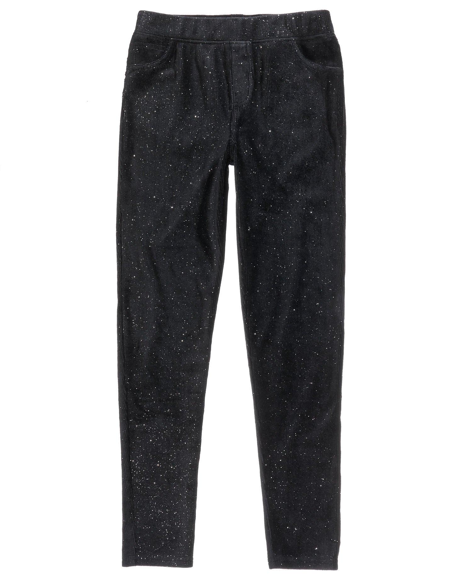 Epic Threads Girls Corduroy Pants (Mediumx23, Black)