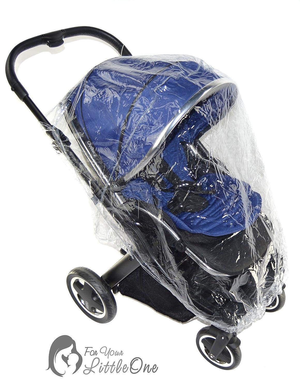 Kinderwagen mit Regenschutz, kompatibel mit Cybex Callisto For-Your-Little-One