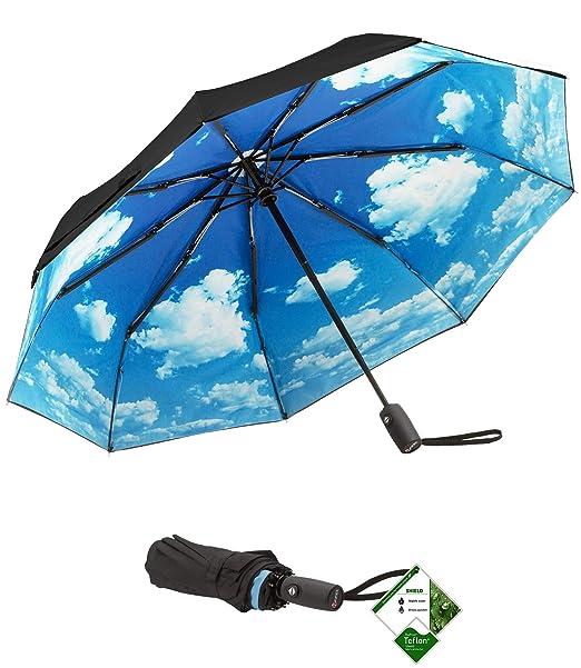 Repel Easy Touch paraguas 11,5 Dupont teflón paraguas de viaje
