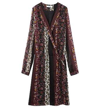 e03582a18f81b6 Promod Robe en Voile imprimé: Amazon.fr: Vêtements et accessoires
