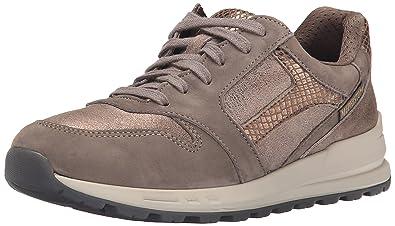 a668f563bf9 Mephisto Women's Cross Walking Shoe, Pewter Bucksoft/Dark Taupe  Fashion/Bronze Reflect,