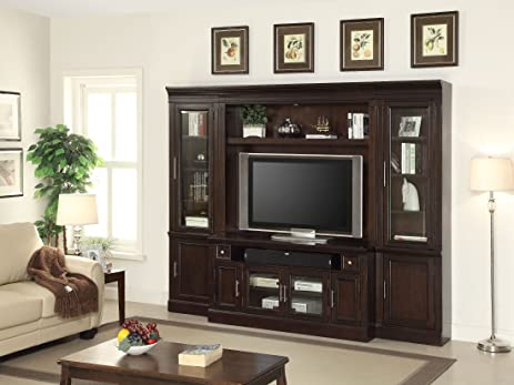 Parker House Stanford 4Pc Entertainment Center In Sherry
