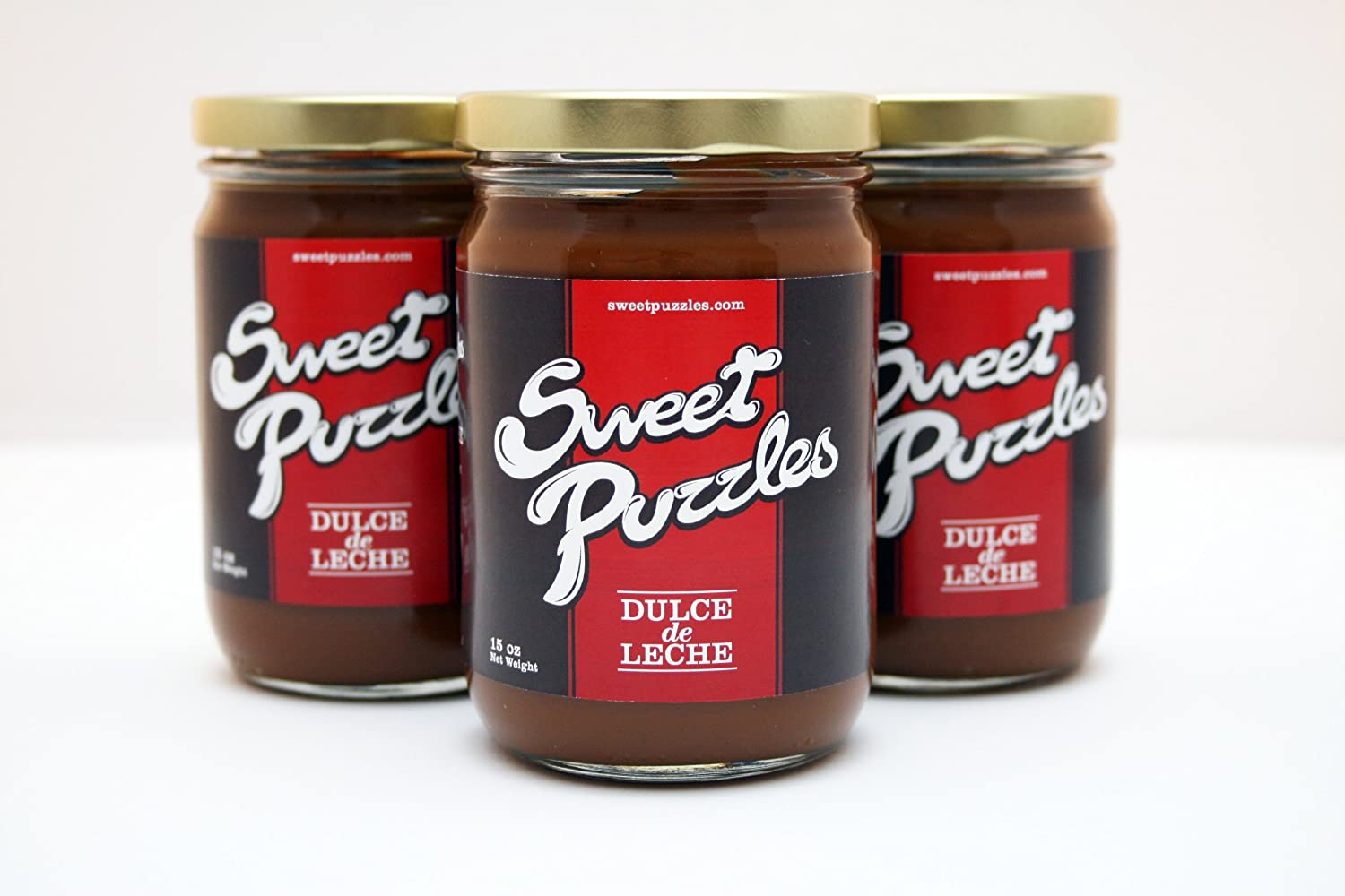 Amazon.com : Dulce de Leche SweetPuzzles - 15 Oz : Gourmet Food : Grocery & Gourmet Food