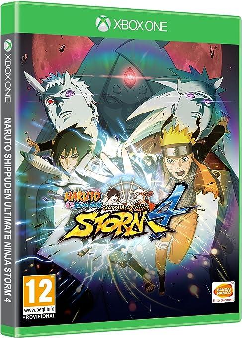 Namco Bandai Games NARUTO SHIPPUDEN: Ultimate Ninja STORM 4, Xbox One Xbox One Inglés vídeo - Juego (Xbox One, Xbox One, Acción / Lucha, Modo multijugador, T (Teen)): Amazon.es: Videojuegos