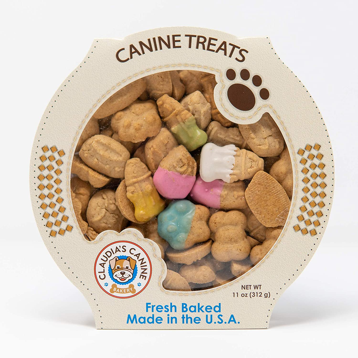 Amazon.com: Claudias Canine Bakery, Peanut Butter Favorite ...