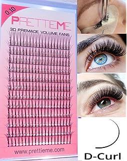 a405fe0a018 Prettieme Pre-Made Russian Volume Lashes for Individual Semi Permanent  Eyelash Extension…