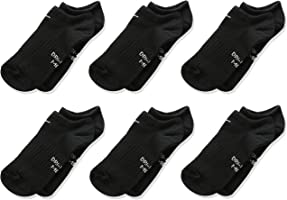 NIKE Kids' Everyday Lightweight No-Show Socks (6 Pairs)