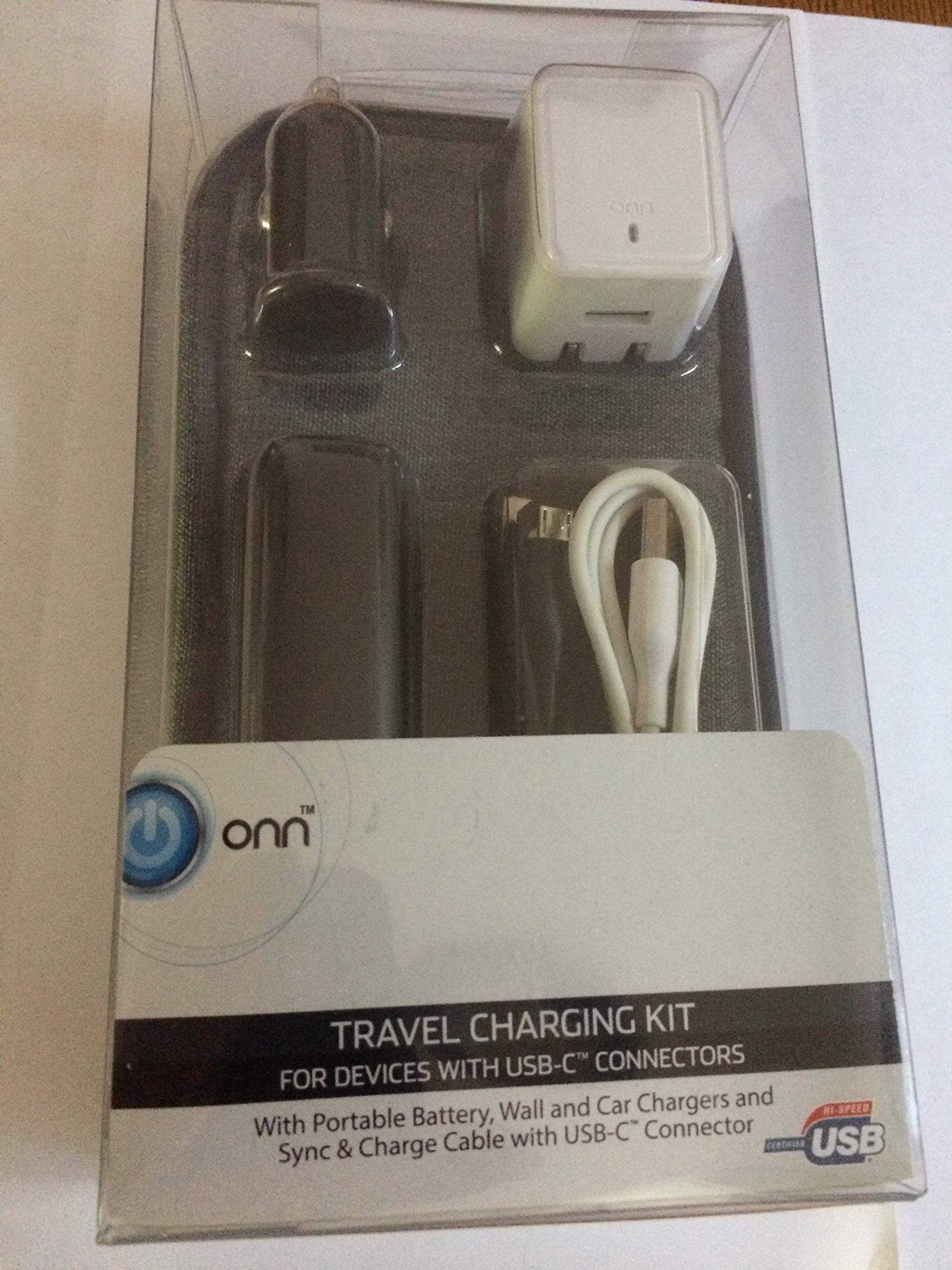 Travel Charging KIT for Devices with USB-C connectors