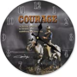 Midsouth Products John Wayne Clock John Wayne Courage