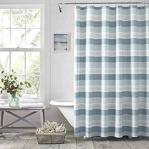 Tommy Bahama Hula Beach Shower Curtain, 72x72, Blue