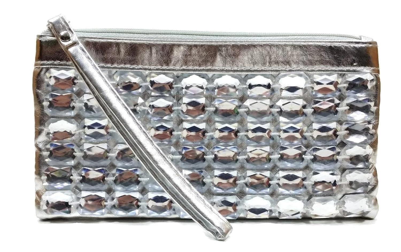 Brand New Silver Sparkle Evening Bag