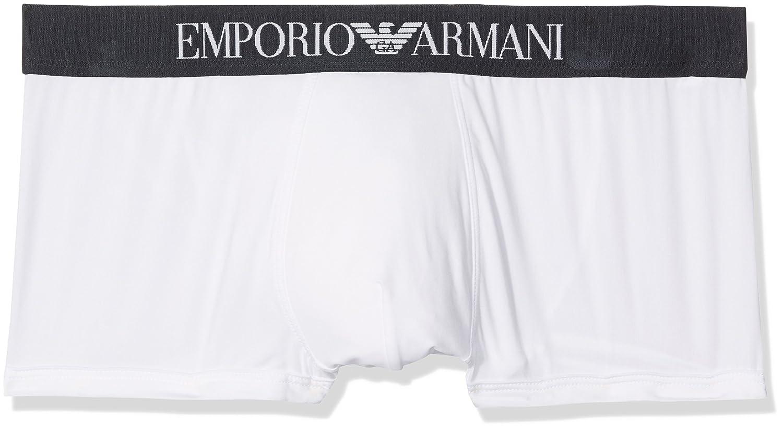 2d8eaead1b0 Emporio Armani CC747 Bóxer, Hombre, Blanco (White), Medium (Tamaño del  Fabricante:M): Amazon.es: Ropa y accesorios