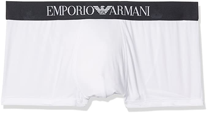 52c620768f1d Emporio Armani Blue Microfiber Boxer Homme at Amazon Men's Clothing ...