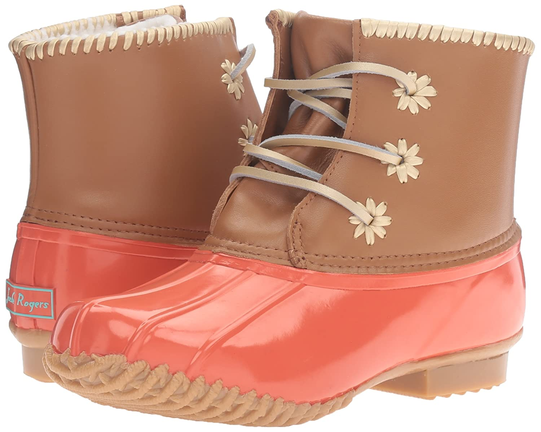 Jack Rogers Women's Chloe Classic Rain Boot B01ET8KS32 7 B(M) US|Fire Coral