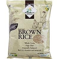 24 Mantra Organic Brown Rice - Sonamasuri, 1kg Bag