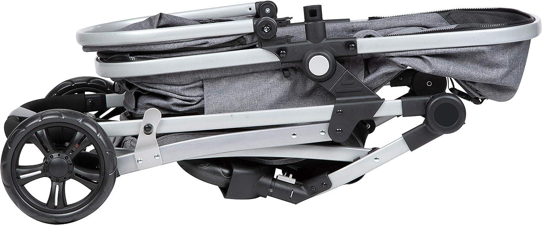 Safety 1st Poussette Duo Hello 2 en 1 Hamac Convertible en Nacelle Adaptateurs Cosi Black Chic