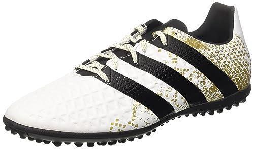 adidas Ace 16.3 TF, Botas de fútbol para Hombre, Blanco (Ftwbla/Negbas