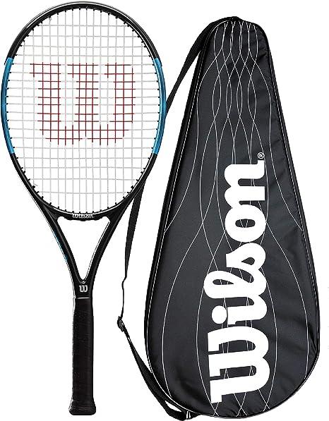 pour Joueurs D/ébutants /à Interm/édiaires Federer Pro 105 Unisexe Wilson Raquette de Tennis Taille de Manche