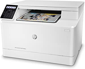 HP Color Laserjet Pro M180nw All in One Wireless Color Laser Printer with Mobile Printing & Built-in Ethernet, Amazon Dash replenishment ready - White (T6B74A)