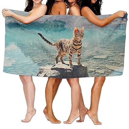 5b49573a85 Amazon.com: 2286 pants Bath Towels,Ultra Absorbent Microfiber Beach Towel  For Men Women Kids,Ocelot Picnic Mat: Home & Kitchen